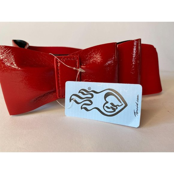 Red Bow Belt by Torrid Style# 591261-004
